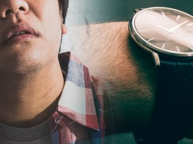 ブサメン  腕時計